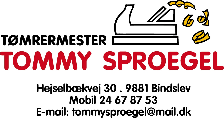 Tømrermester Tommy Sproegel